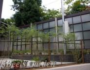 プラスG 角格子パネル H:24 柿渋&シャイングレー 姫路市