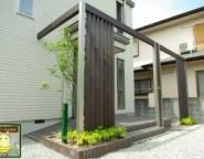 ~ジーマのある暮らし~ 念願のジーマの中庭とプラスGによる玄関リメイク。