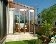 Vol.16 ガーデンルームタイプのココマとタイルテラスのガーデン