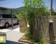 Vol.10 オープン外構。お庭部分を拡張し芝生と植栽中心のお庭を実現!