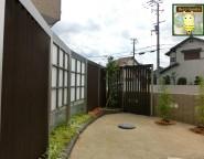 Vol.6 エバースクリーンを使った目隠しプラン。手付かずの中庭からプライベート空間へ!