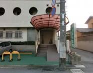 歯科医院のエントランス&駐車場のリフォーム。三協アルミMシェート゛とリンクストーン
