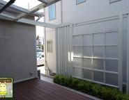 プラスGを使ったエントランスと中庭オリジナルプランの新築外構