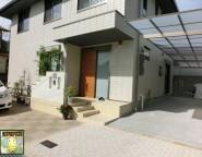Vol.3 二世帯住宅の建て替え新築オープン外構!玄関ポーチは外構で!