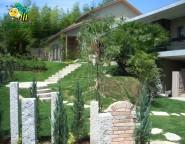 Vol.31 高台の外構・・・洋と和のお庭のあるガーデンプラン