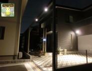 進入間口や前庭空間を広く演出。Gフレームをフル活用 姫路市