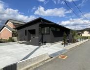姫路市新築外構 畑の造成前からご相談頂いた平屋のシンプル外構